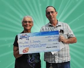 Arizona Lottery Winner Paul & Jeanette