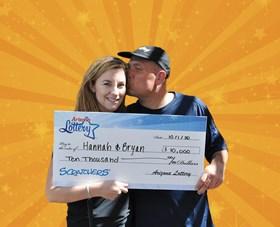 Arizona Lottery Winner Hannah & Bryan