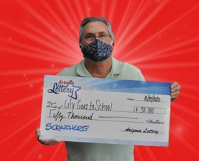 Arizona Lottery Winner Lily Goes to School