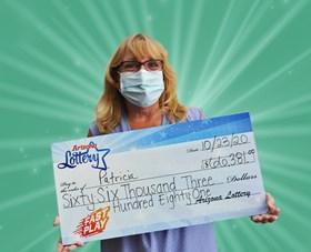 Arizona Lottery Winner Patricia