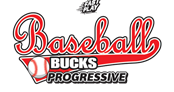 Baseball Bucks Progressive Logo